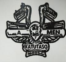 A-Men porukan taiteilema logo